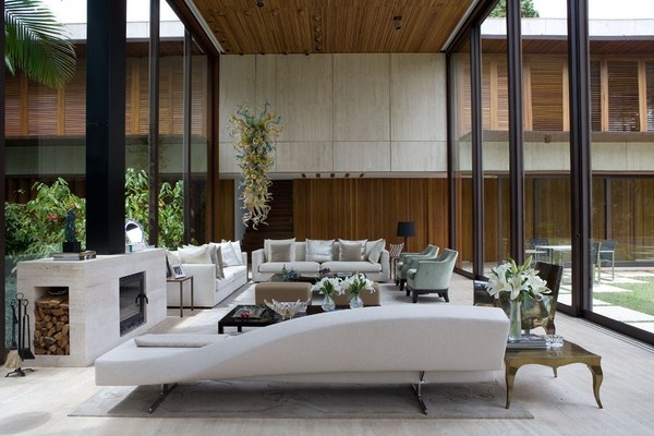 Living Room With Double Height Ceiling Houses Pinterest Ceilings And Living Rooms