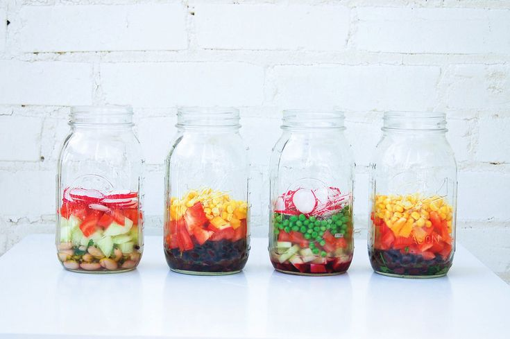 How to Pack a Perfect Mason Jar Salad: Packing a to-go salad in a mason jar seems like a great idea — it's an easy way to transport a vibrant, veggie-heavy meal without worries of dressing leaking into your bag — but if improperly assembled, it may end up underdressed, soggy, or less than fresh.