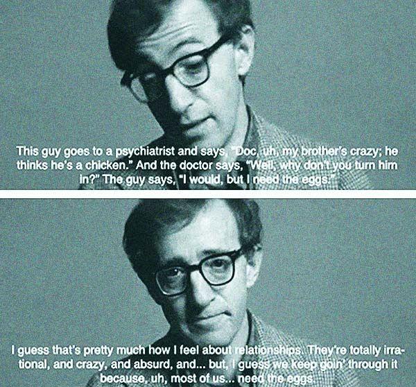 The Best Woody Allen Quotes!