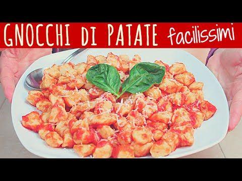 GNOCCHI di PATATE FACILISSIMI - Super Easy Gnocchi Recipe