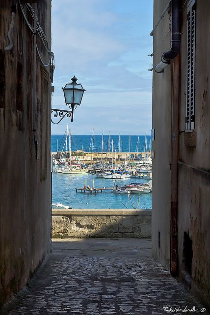 One of the charming seaside villages we will be visiting in spring and fall: Otranto, Lecce Province, Puglia, Italy