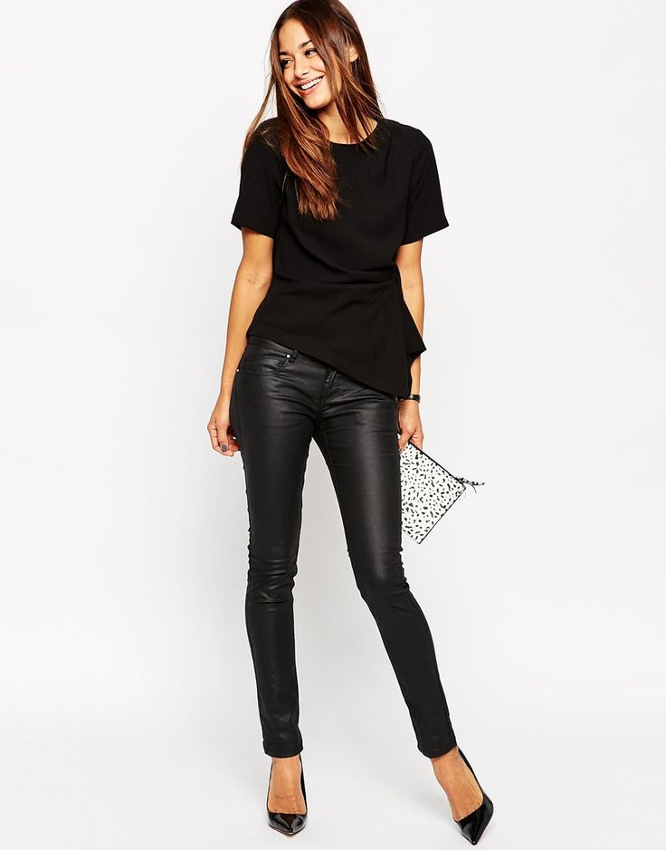 Image 4 of ASOS Origami Structured T-Shirt