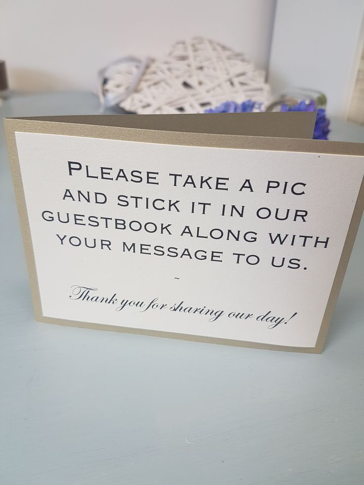 Instant Camera and Polaroid camera guest book