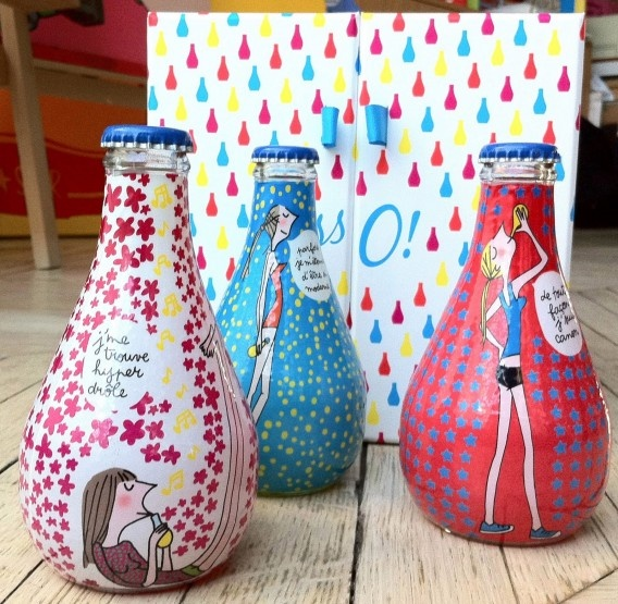 new Orangina bottles: great! Drawing: Soledad | GirLs juSt ...