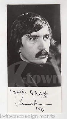 EDWARD ALBEE WHO'S AFRAID OF VIRGINIA WOLF PLAYWRIGHT AUTOGRAPH SIGNED PHOTO