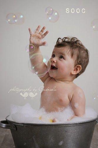 Kids Vitrine: 25 idéias para fotos do bebê