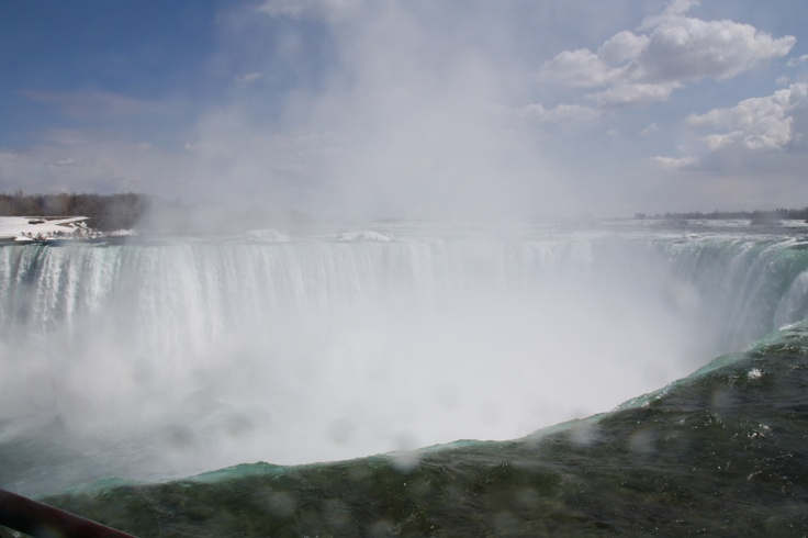 The falls in Canada! Love it!