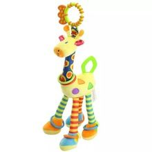 SALE US $13- new 45cm plush Cartoon animal lion giraffes doll Wind bell baby toy Hung on me pendant Children's gift