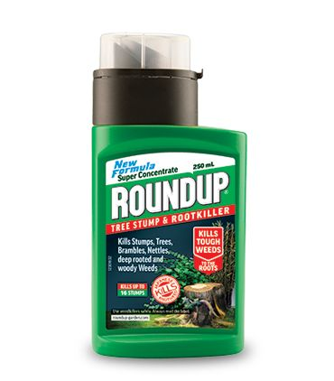 Tree stump & root killer, tree root killer, concentrated weed killer - Roundup Weedkiller