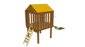 Playhouse | Free Outdoor Plans - DIY Shed, Wooden Playhouse, Bbq, Woodworking Projects - Part 6