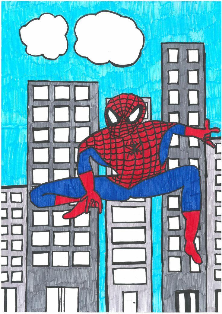 *WINNER*  Rebekah W. - Spiderman