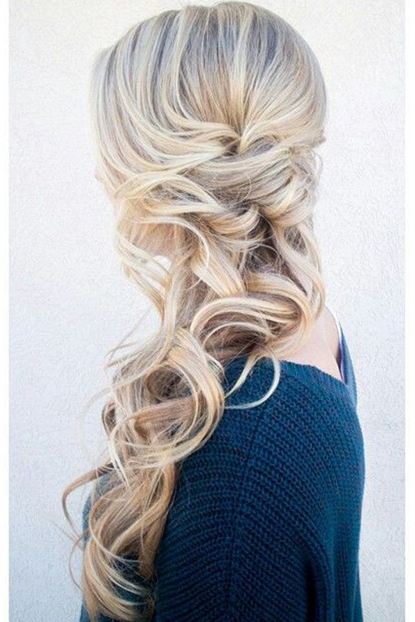 50 Hairstyles For Bridesmaids: Wedding Inspiration