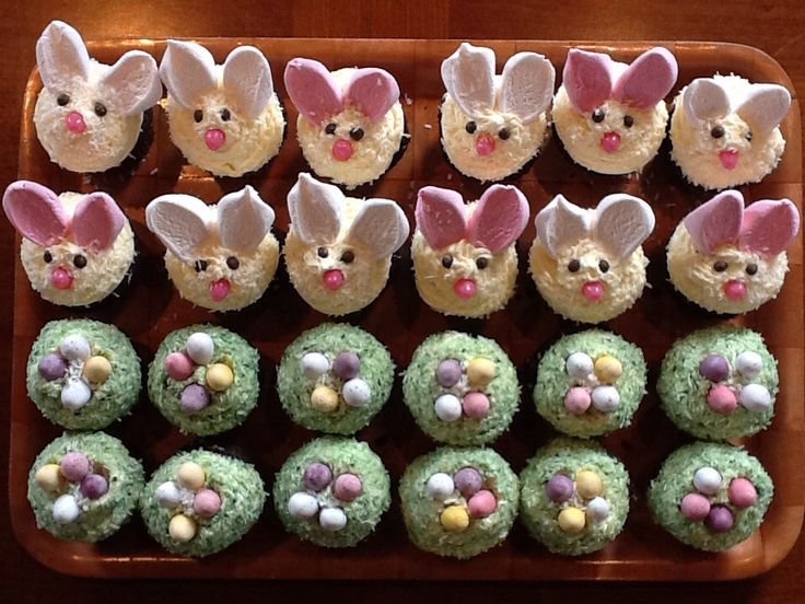 Bunny rabbit and Easter Eggs ... Yum