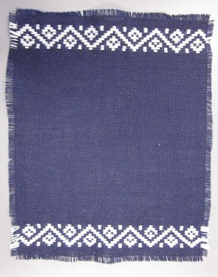Ruusuvuoren tekstiilityö: Käsinkirjonta (6.lk)