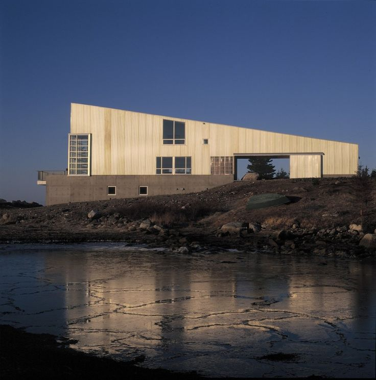 Howard House, West Pennant, Nova Scotia, Canada, Brian MacKay-Lyons, 1998