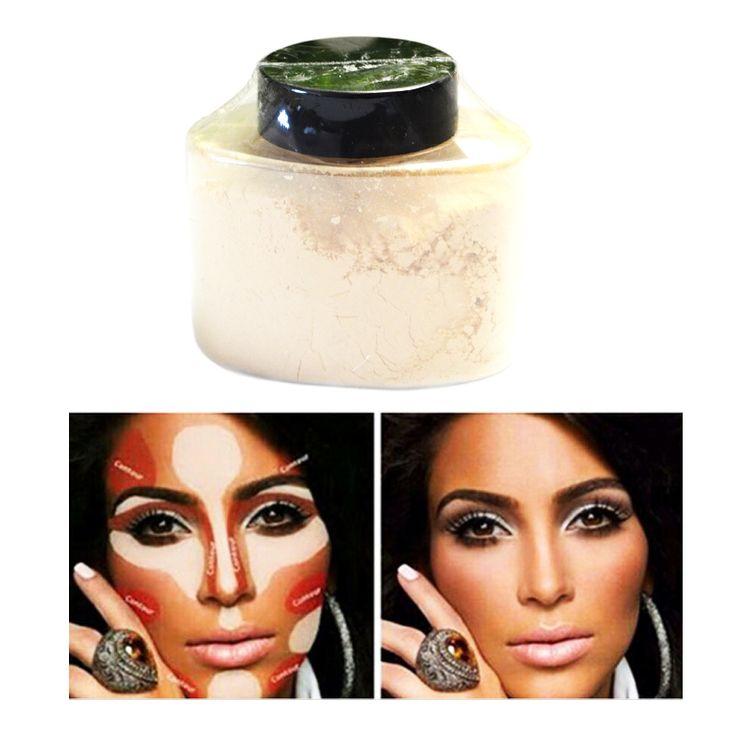 Fleuren Concealer Poeder Banaan Losse Poeder Beauty Up voor Vrouwen Facial Cosmetische Poeder 42gr Luxe Poeder Poudre de Luxe