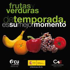 Cartel de la campaña 'Frutas y verduras de temporada'