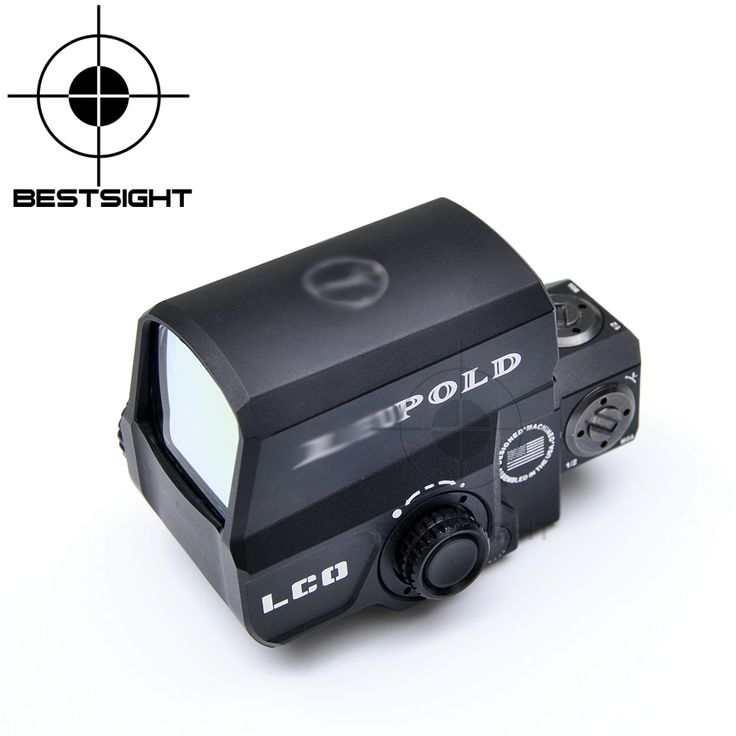 LCO Leupold Tactical Sight holográfica Reflex Red Dot Sight Caza Alcances Leupold Scope Sight 20mm Montaje En Carril