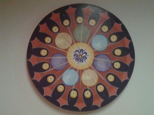 Mandala feita especialmente p minha quiroprata PRreferida