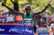 NY Marathon winner, is this guy even human?