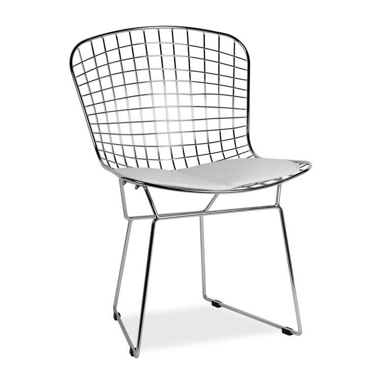 chaise bertoia best chaise bertoia blanche charmant chaise bertoia blanche simple chaise. Black Bedroom Furniture Sets. Home Design Ideas