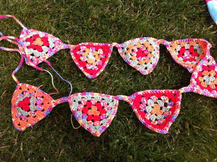 Banderín a Crochet, bello!