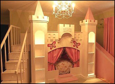 Diy Castle Bed Maries Manor Theme Beds Novelty Furniture Woodworking Bed