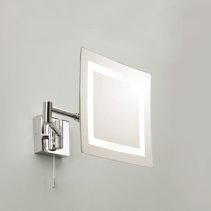 Bathroom Mirror Chrome 13 best illuminated bathroom mirrors images on pinterest