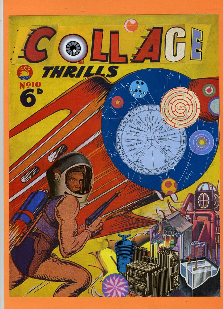 Collage Thrills - Collage  2015