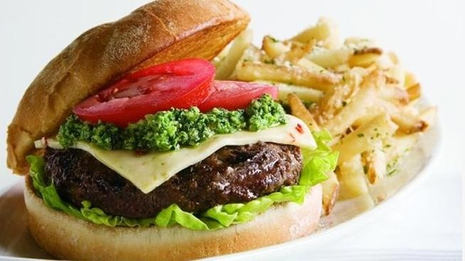 May is National Burger Month and Mohegan Sun Casino  I love me a good burger  #nbcctpinandwin