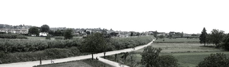 00_PASSERELLA CICLOPEDONALE SUL TORRENTE EGOLA IN LOC. MOLINO D'EGOLA | concorso di idee | Studio Galluzzi Associati panoramica