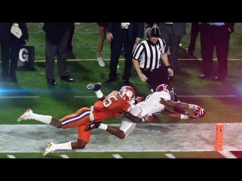 I had Alabama winning this game, I wasn't looking to predict a score, in fact I tweeted that Alabama would win because ...defense wins Championships ....was I so wrong about that. In fact for a lon...