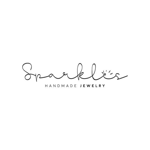 Custom Logo Design // Handwritten Logo // Modern Calligraphy Logo // Jewelry…