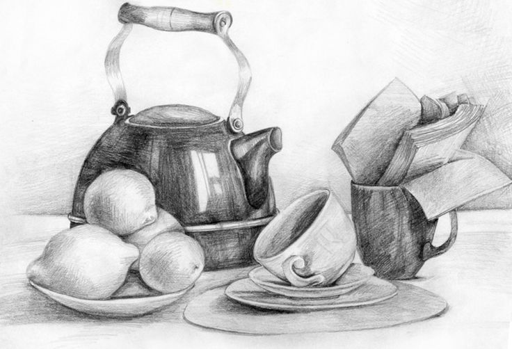 Уроки рисования карандашом: почувствуйте себя художником » Школа рисовнаия Найди себя