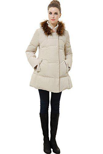 $149.00 (was $228.00) Beige Momo Maternity Winter Coat 924-148940-BEI-S Offer Date 11 30 - http://modeame.com/fashion/women/149-00-was-228-00-beige-momo-maternity-winter-coat-924-148940-bei-s-offer-date-11-30-5000