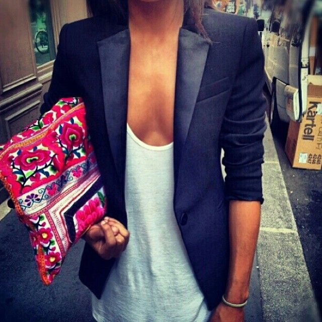 Tailored with a pop of gypsy ♥