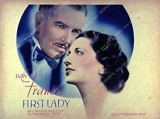 Pic Kay Francis Preston Foster film First Lady 35m-4254