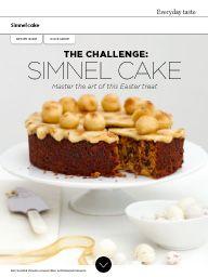 Waitrose Food March 2016: The challenge: simnel cake