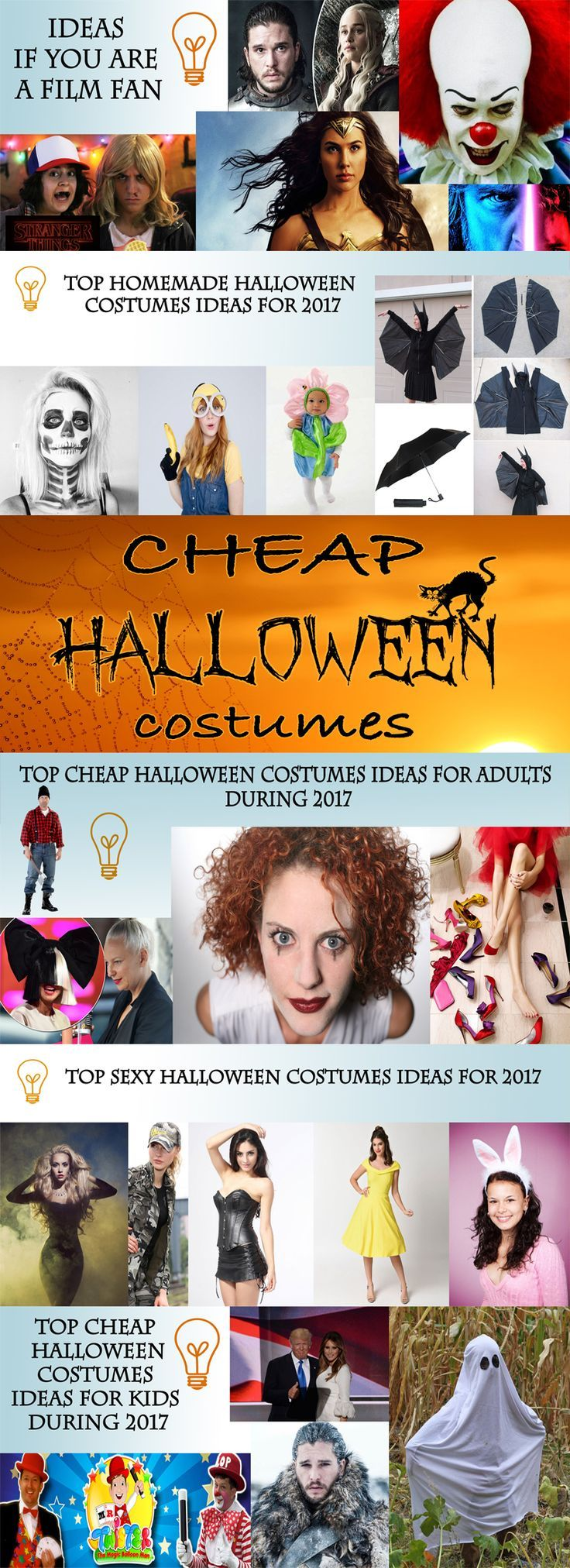 Halloween costumes are the primary symbols of the celebration on the 31st of October. Check out the best cheap Halloween costumes ideas for 2017