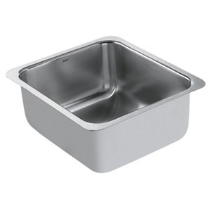 Moen Lancelot Single Bowl Sink Madeinamerica Single Bowl Kitchen Sink Bar Sink Stainless Steel Undermount
