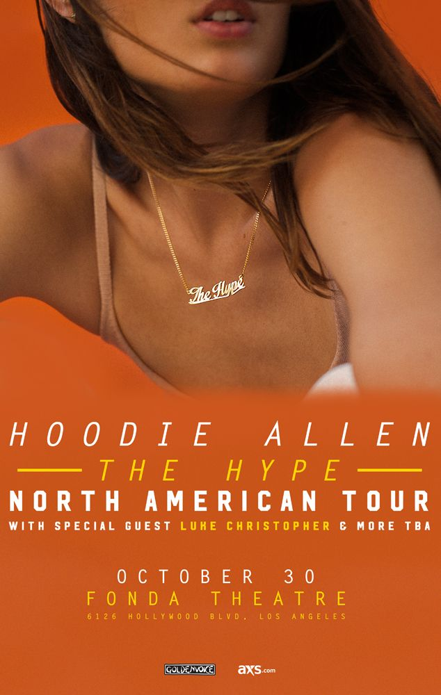Putting a bit more pop into the pop-rap of folks like Asher Roth and Sam Adams, rapper Hoodie Allen went from Internet favorite to killing the billboard charts. Check him out at Fonda Theatre this Monday!
