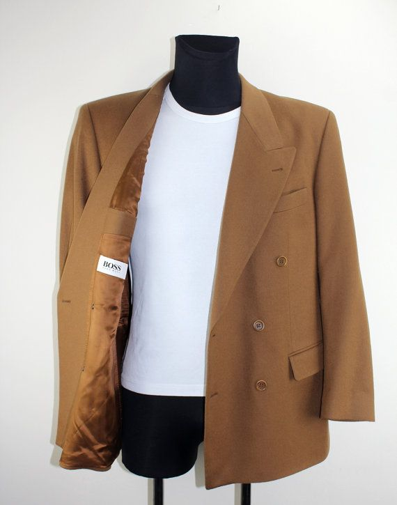 HUGO BOSS Vintage Anzugjacke Oberteil  Anzug by DesignerSecondHand