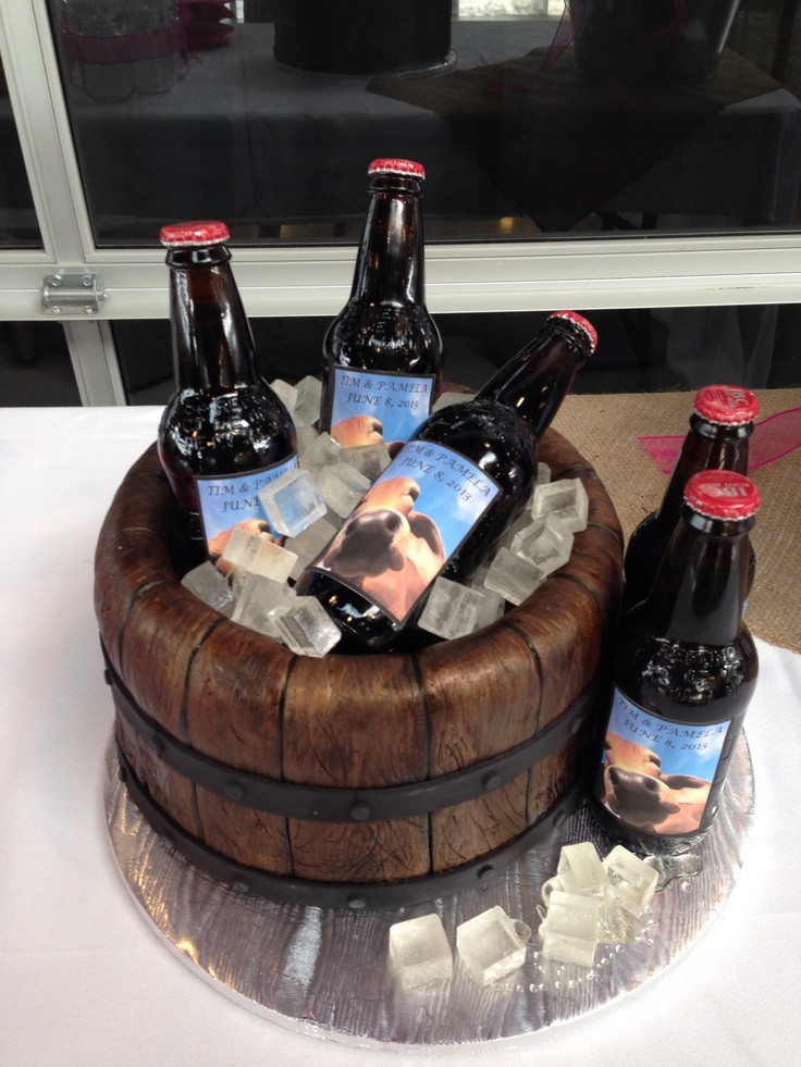 beer wedding cake 17 best images about grooms cakes on bud light 11258