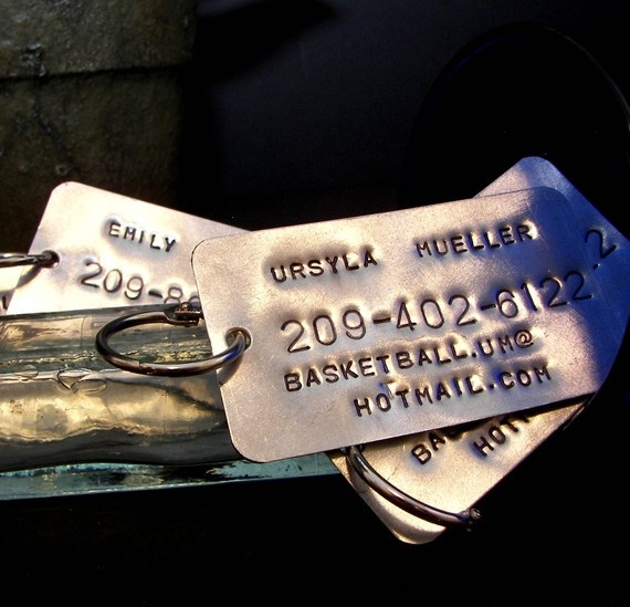 custom luggage tags
