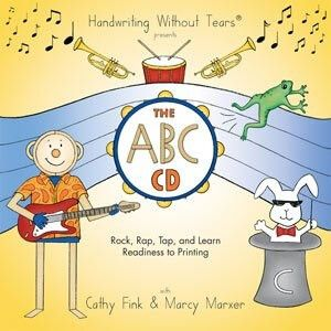 Handwriting Without Tears CD song list with links to videos available for each song. Rock, Rap, Tap and Learn CD Readiness to Printing songs with videos