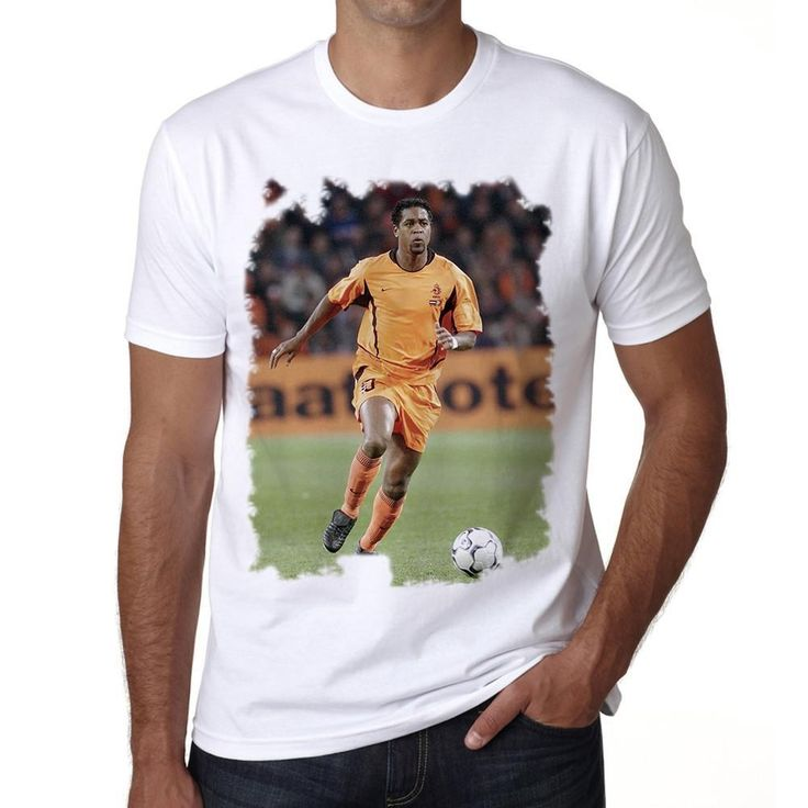 Patrick Kluivert Men's T-shirt ONE IN THE CITY