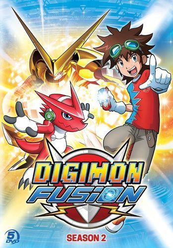Digimon Fusion: Season 2 [5 Discs] [DVD]