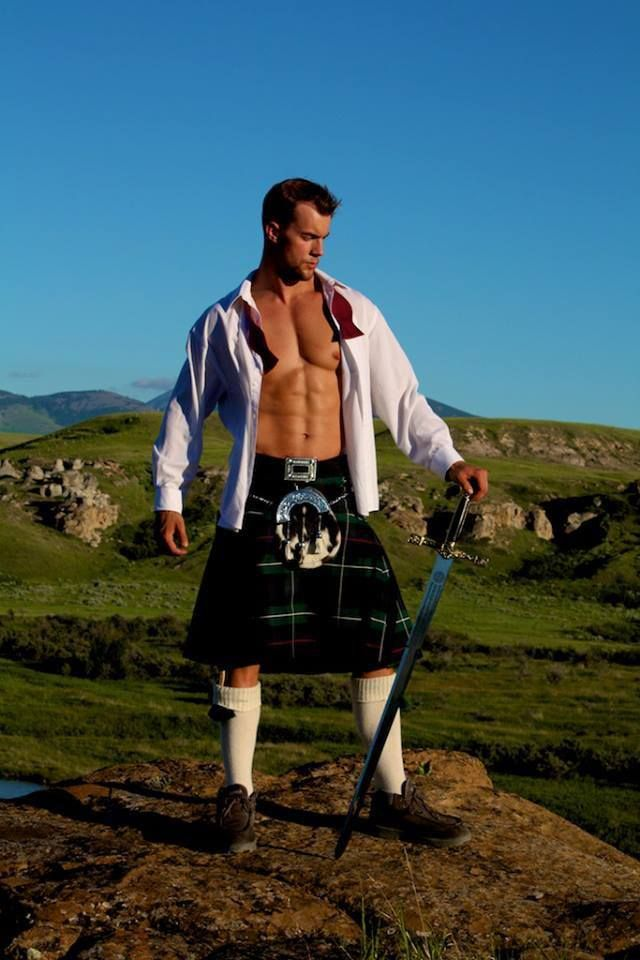 "Kilts will never be the same to me now that I've been ""Outlandered""!"