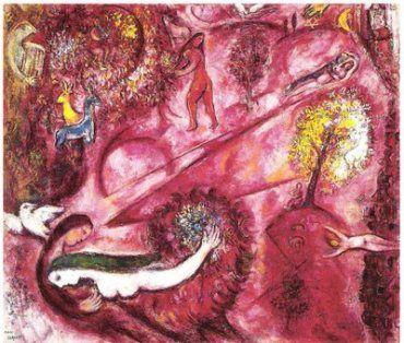 Il cantico dei cantici di Chagall