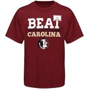 Florida State Seminoles (FSU) Basketball Beat Carolina T-Shirt - Garnet
